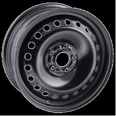 Диск колесный 14 TREBL 7280 6x14/5x100 ET43 D57.1 VW Golf, Polo, Skoda Black