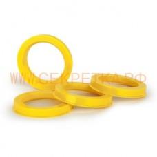 Кольцо центровочное ,Комплект 4 шт. 60,1-54,1