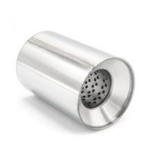 Пламегаситель коллекторный 095x180 ф57 Нерж, пустой (BOKER)