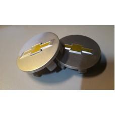 Заглушка ступицы колеса CHEVROLET d внешний 58мм, d ножек 54,3мм серый (4шт)