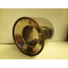 Пламегаситель коллекторный 100x080 ф57 Нерж, набитый (BOKER)